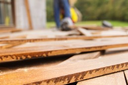 What should I look for when buying hardwood floors?