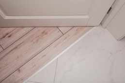 What is the difference between porcelain and ceramic tiles?